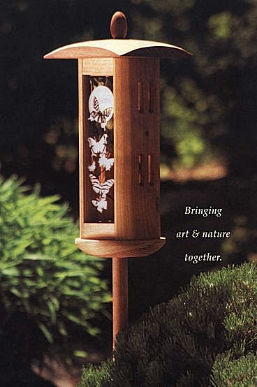 Butterfly House - Standing Butterfly Box