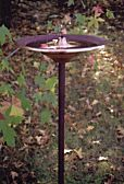 Misty Bird Bath - Purple