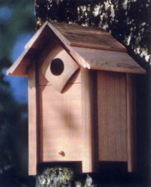 Small Nesting Box Bird House