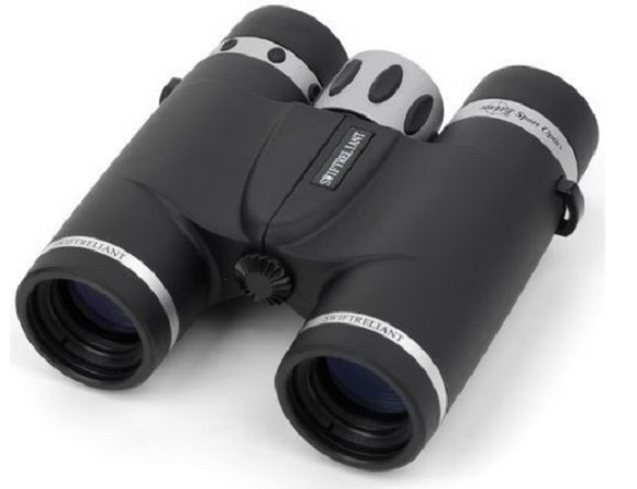 Swift Reliant Compact 9x27 Roof Prism Waterproof Binoculars