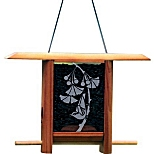 Gingko Leaves Teahouse Birdfeeder